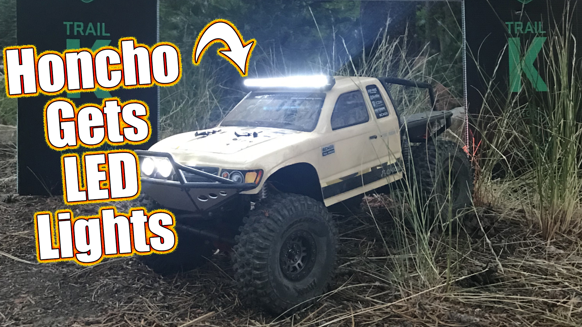 Pro Line Led Light Bar Install Axial Scx10 Ii Trail