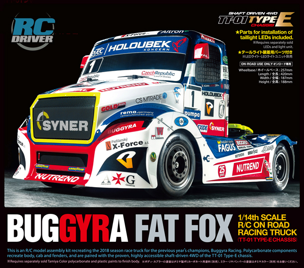 Tamiya Buggyra Racing Fat Fox TT-01 Type-E