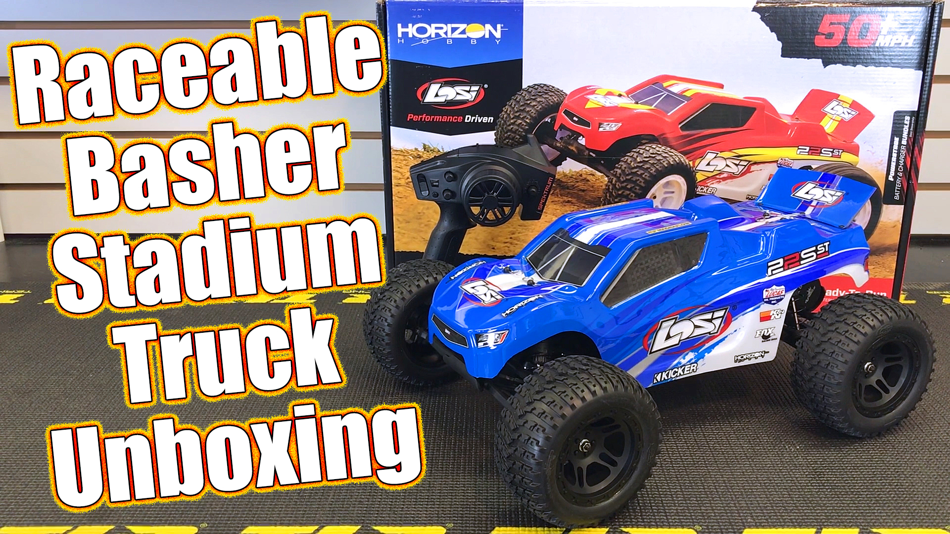 Losi 22S ST Brushless RTR 2WD Stadium Truck Unboxing