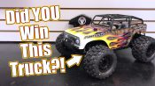 WHO WON The $1000 Basher Truck Build?!