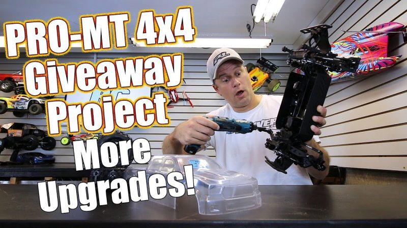 Pro-Line Pro-MT 4x4 Giveaway Part 2