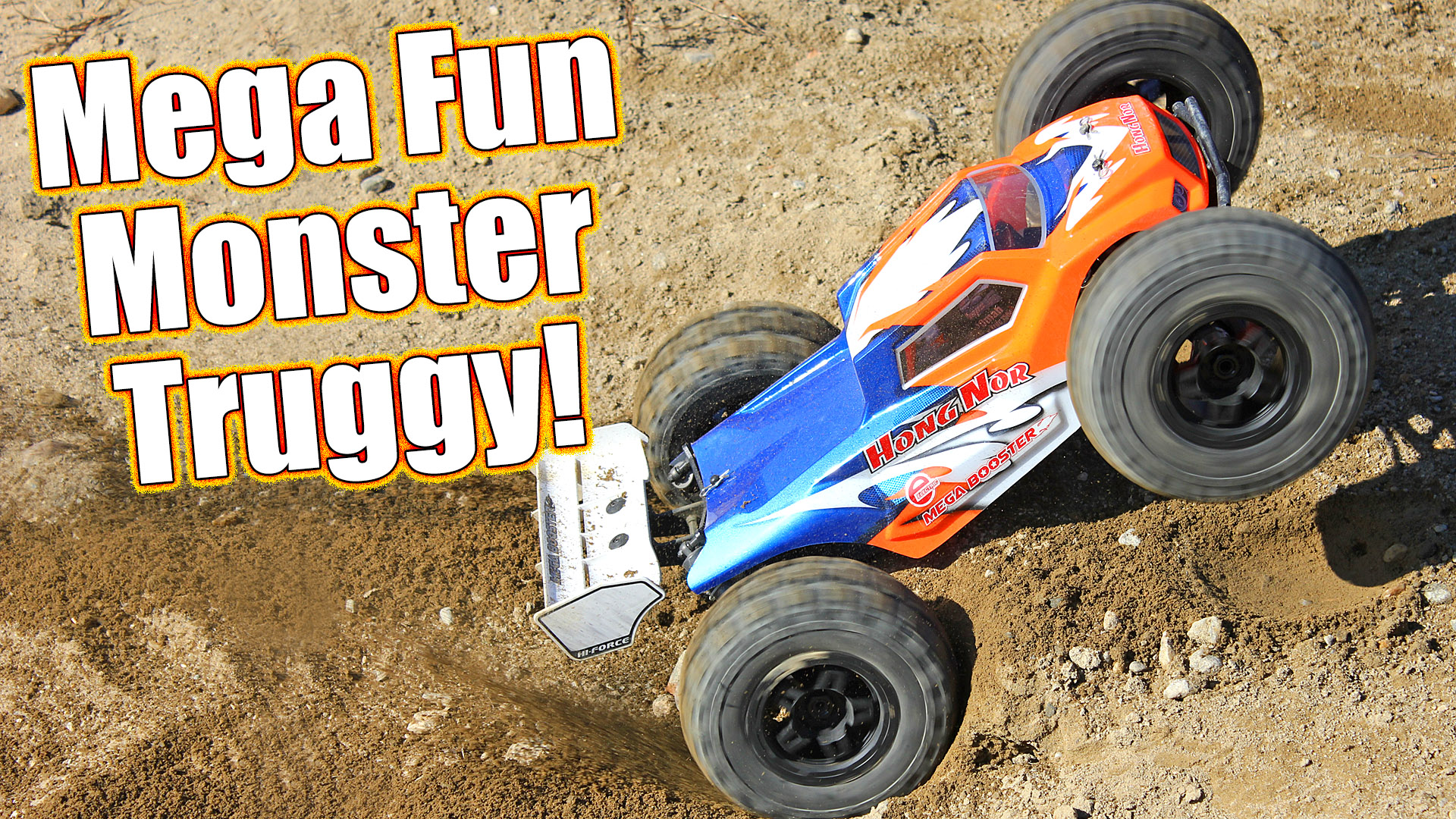 Hong Nor Mega Booster E1 Truggy Review
