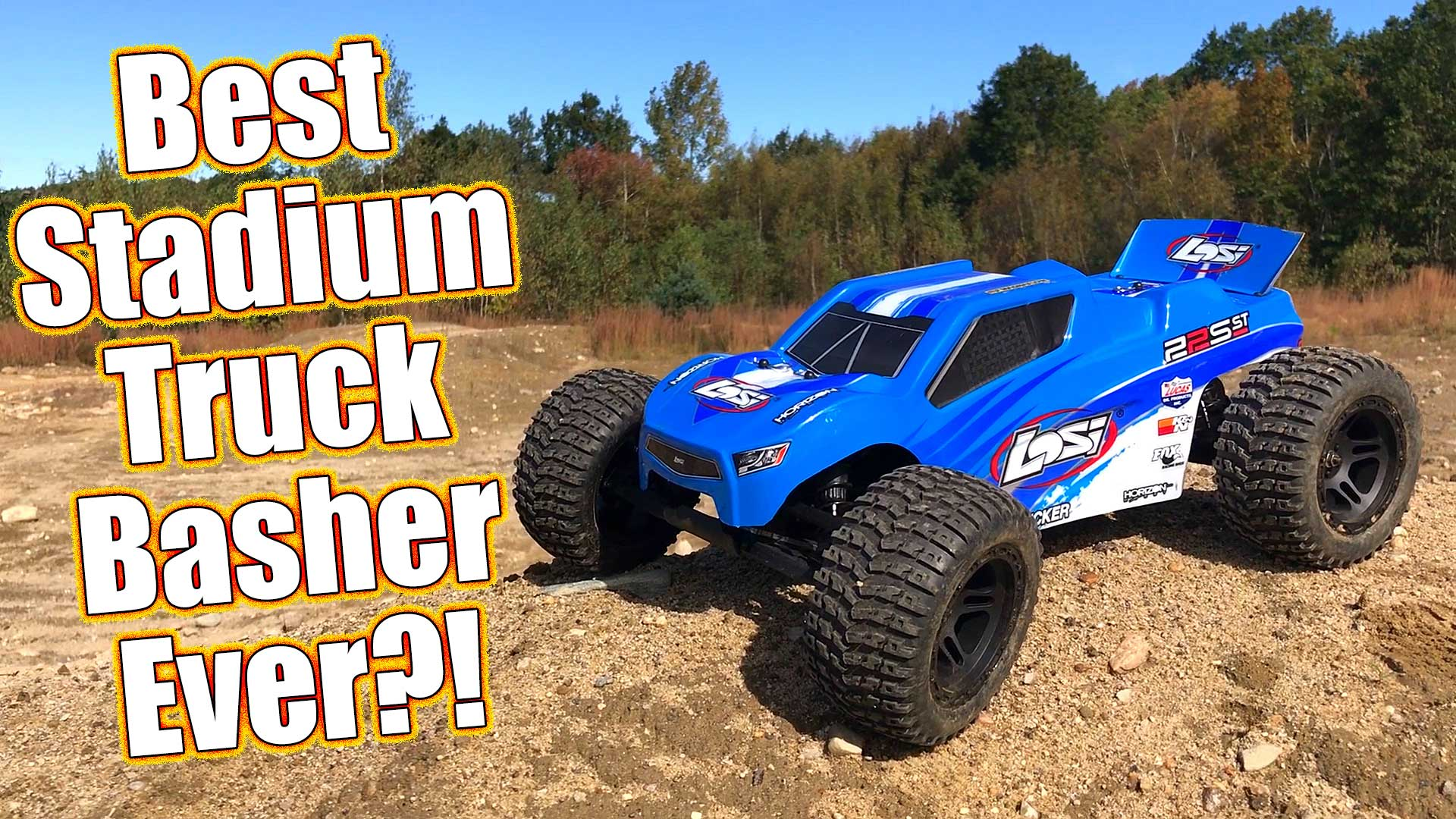 Pro Basher Stadium Truck - Losi 22S ST RTR Brushless Review
