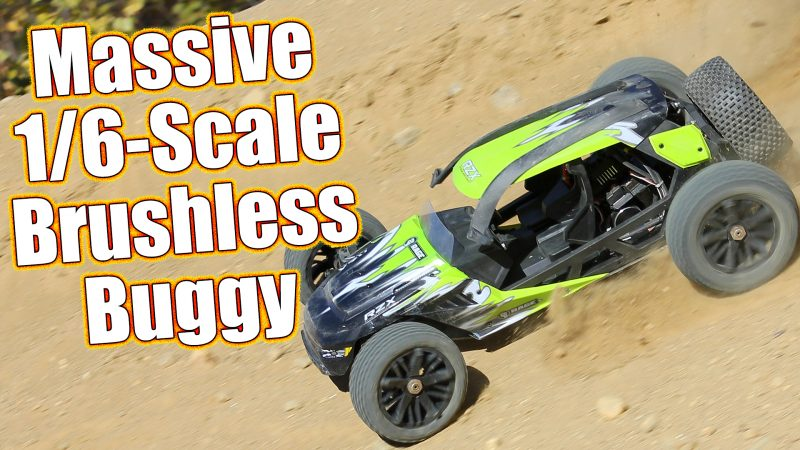 Rage RC RZX 2WD Brushless 1/6 Scale RTR Review