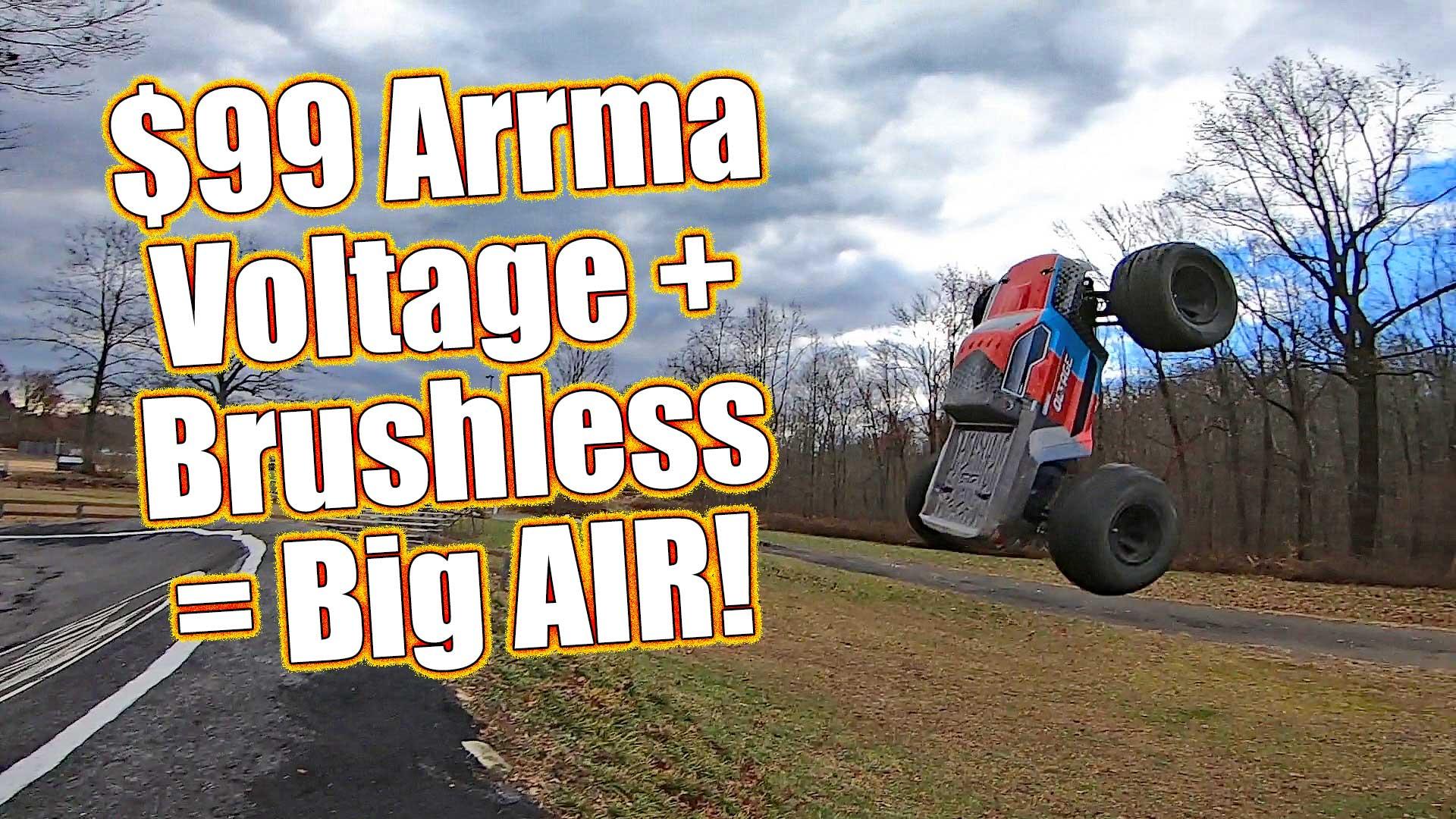 Arrma Granite Voltage Brushless Upgrade How To