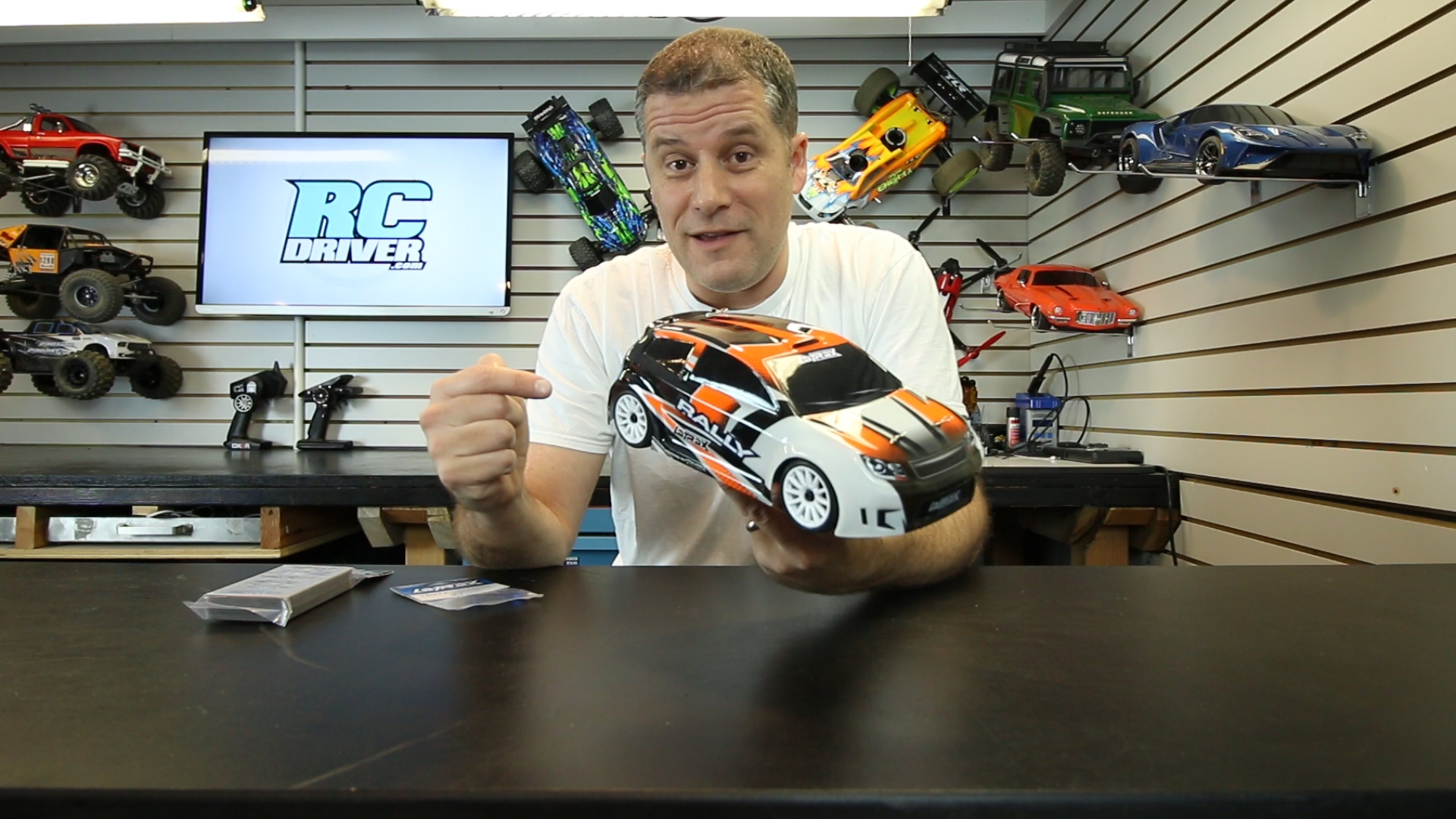 Shock & Tower Upgrade - Latrax Rally by Traxxas