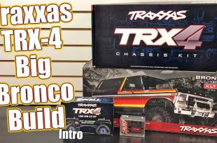 TRX-4 Ford Bronco Project