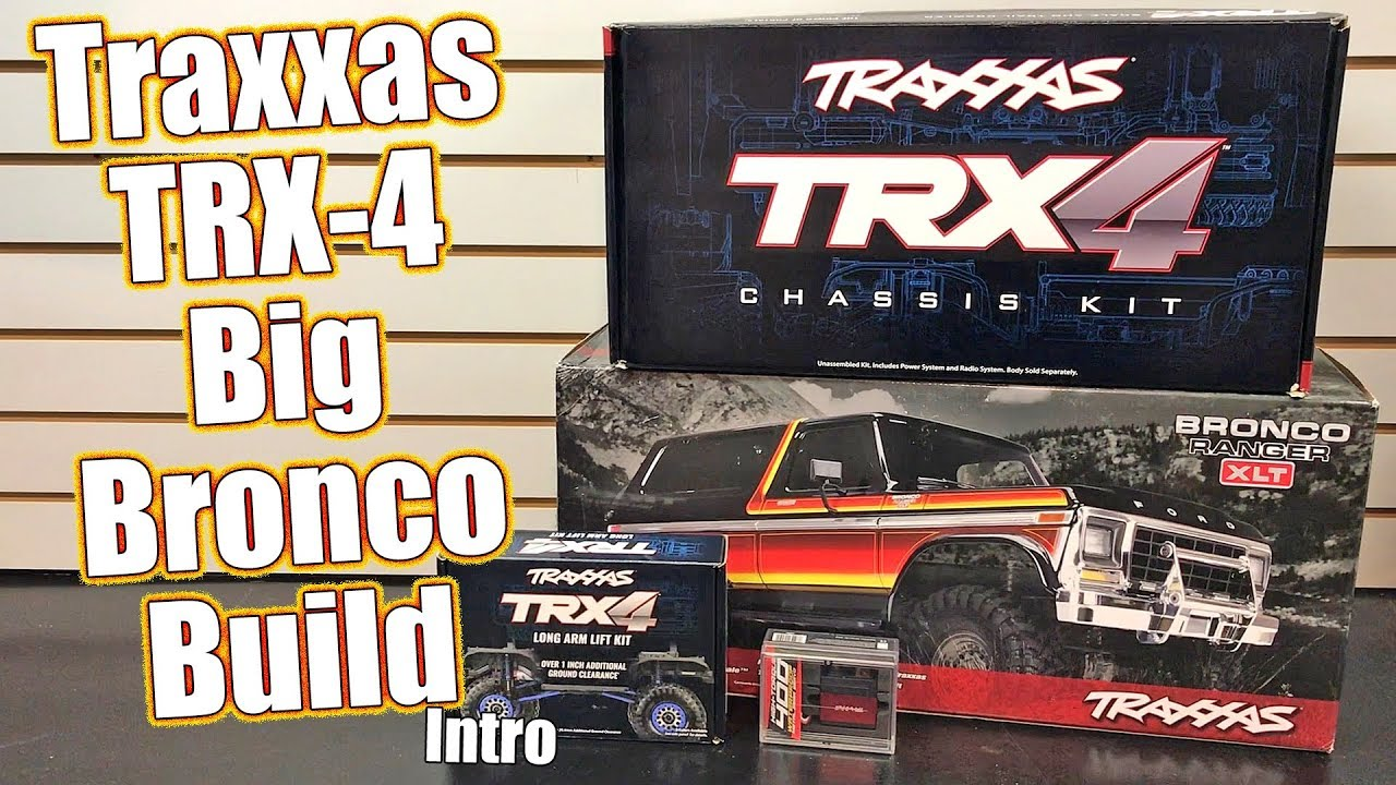 Traxxas TRX-4 Ford Bronco Project Truck Build - Series Intro