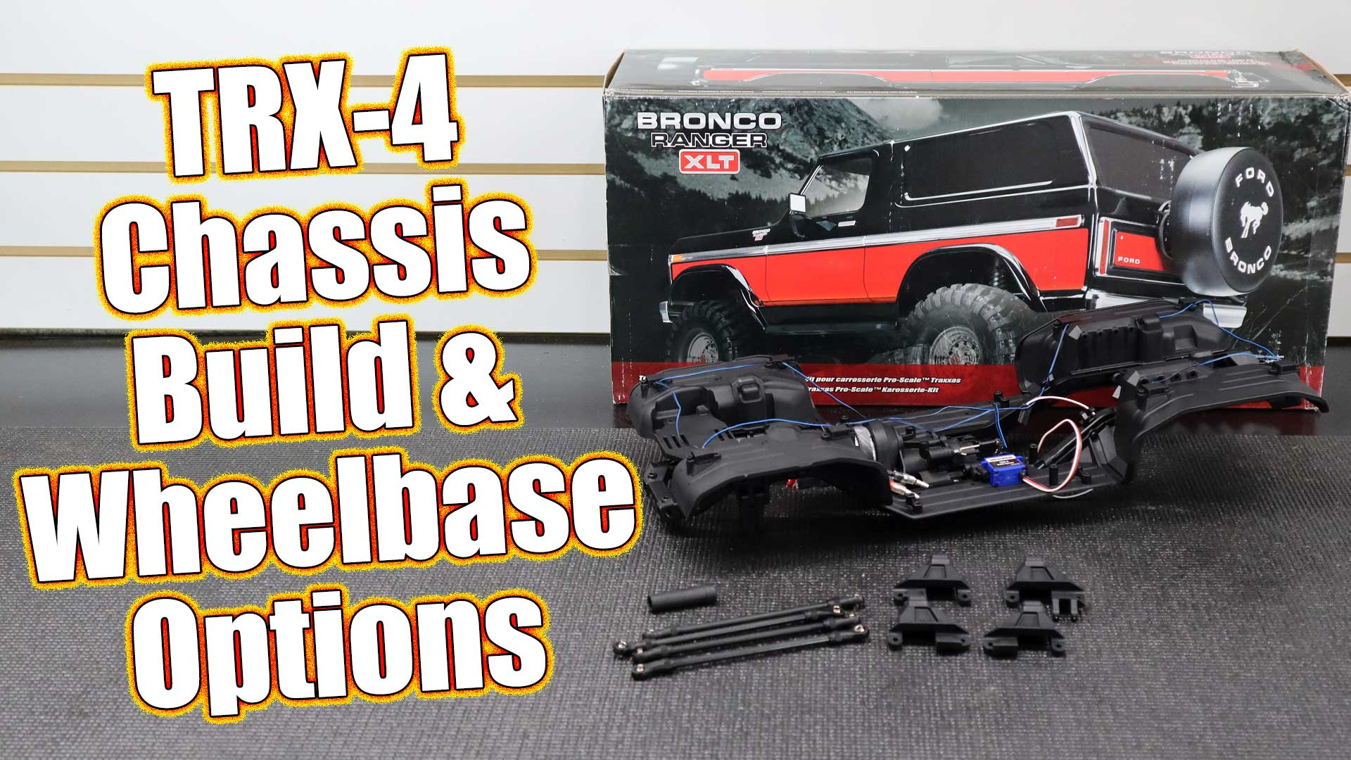 Traxxas TRX-4 Lifted Ford Bronco Project Truck - Series Pt 2