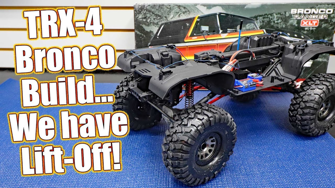 Project Traxxas TRX-4 Lifted Ford Bronco - Series Pt 4