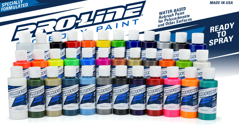 Pro-Line Airbrush Paint for Polycarbonate Bodies