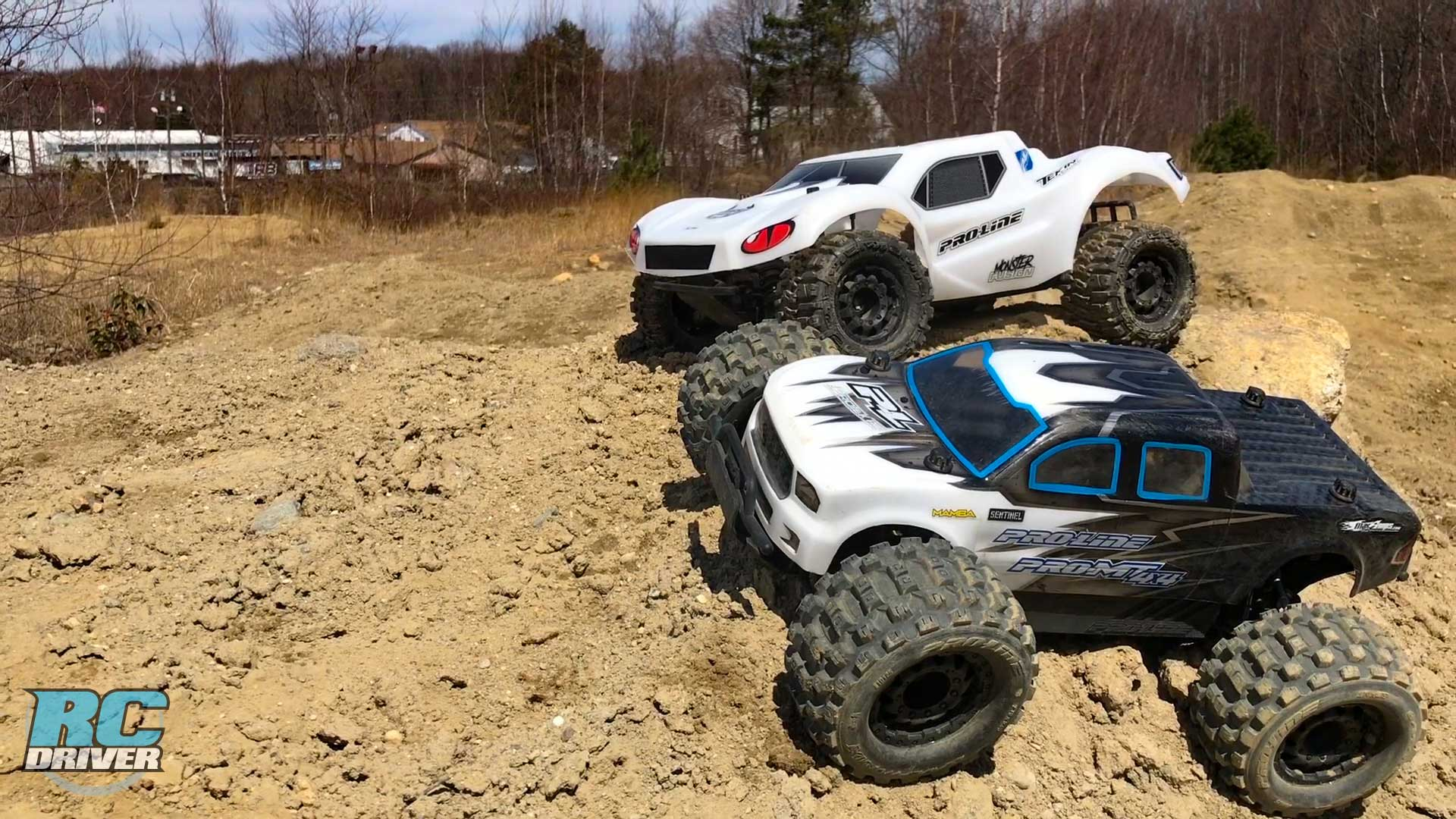 Play Time With The Pro-Line Racing Pro-MT 4x4 & Pro-Fusion SC 4x4