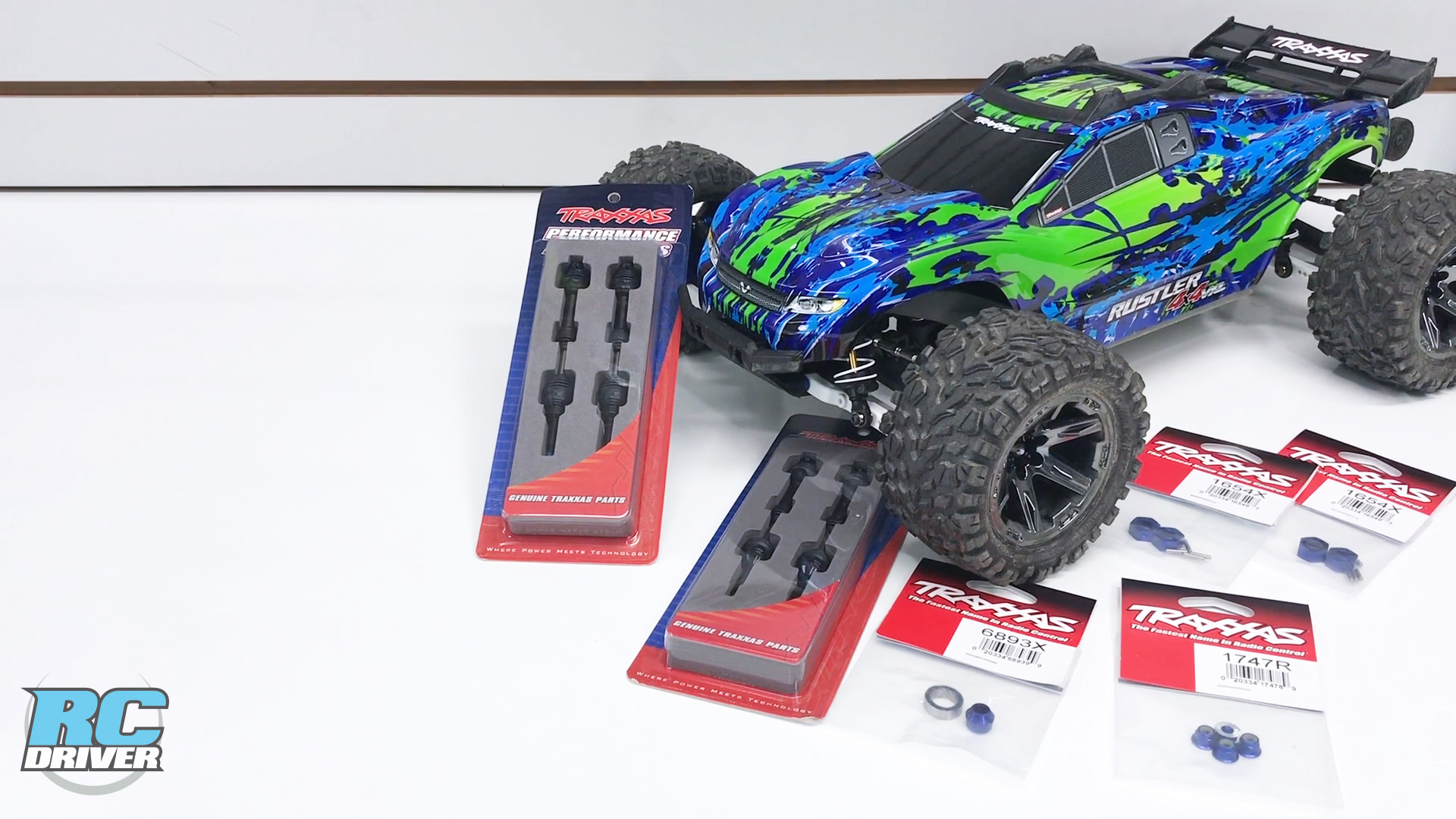 Traxxas Rustler 4x4 VXL Full Upgrade Project Truck Part 2