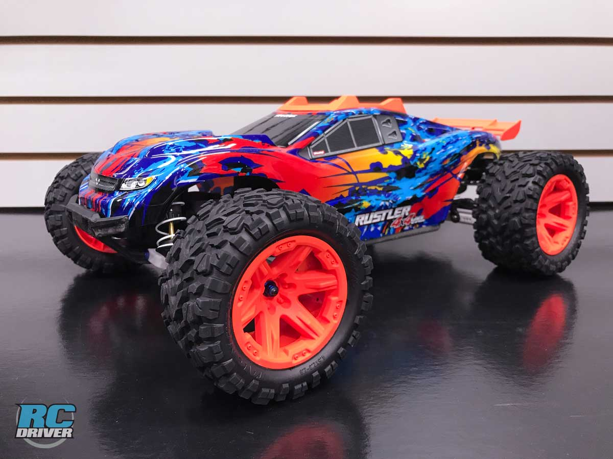 Traxxas Rustler 4x4 VXL Full Upgrade Project Truck Part 3