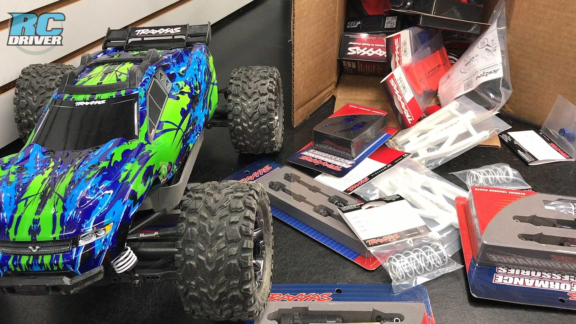 Traxxas Rustler 4x4 VXL Full Upgrade Project Truck Part 1