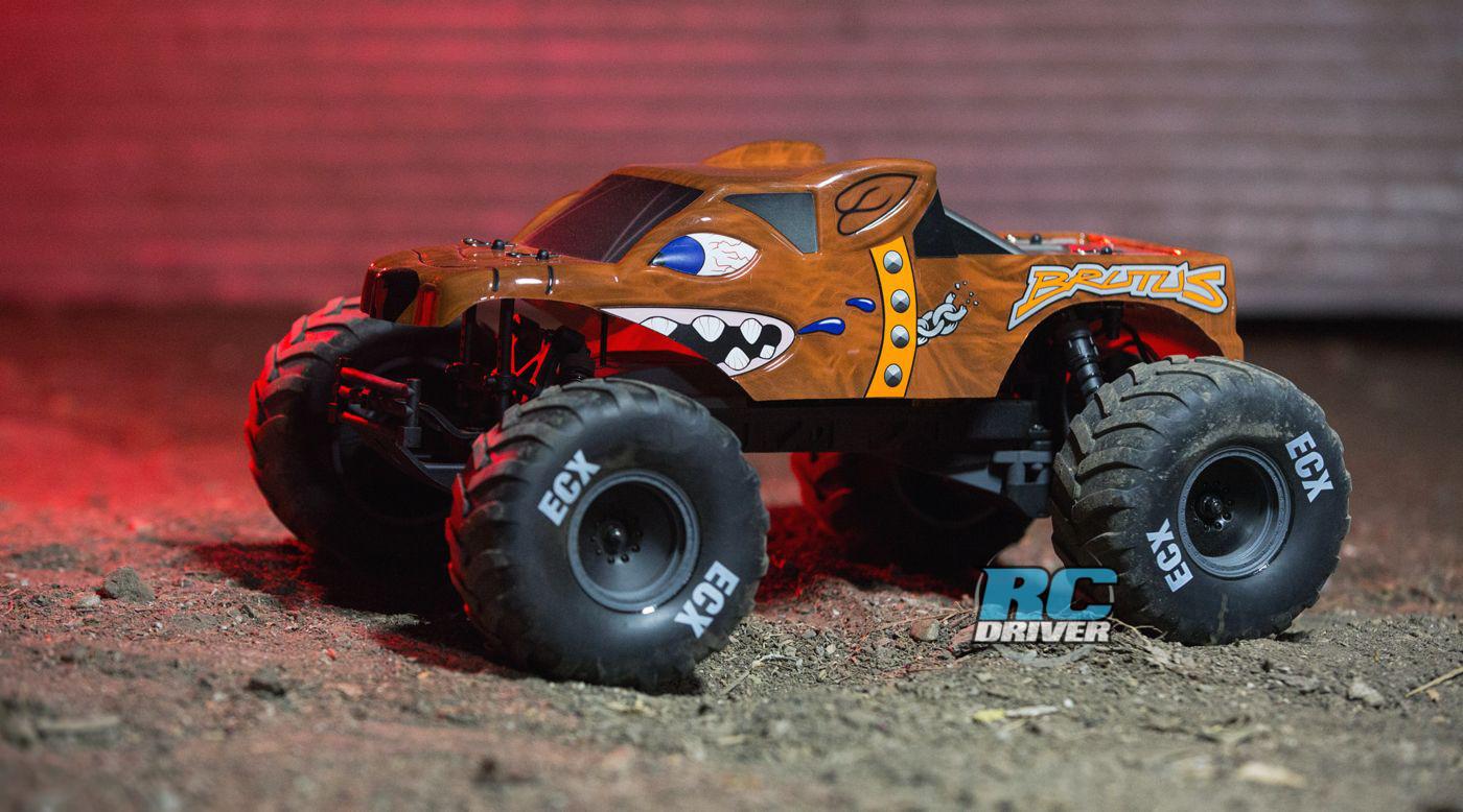 New Release - ECX Brutus Monster Truck