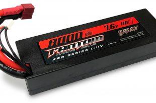 Fantom pro hv graphine battery