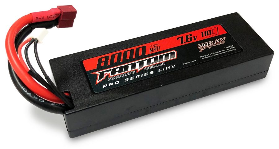 Fantom pro hv graphine battery