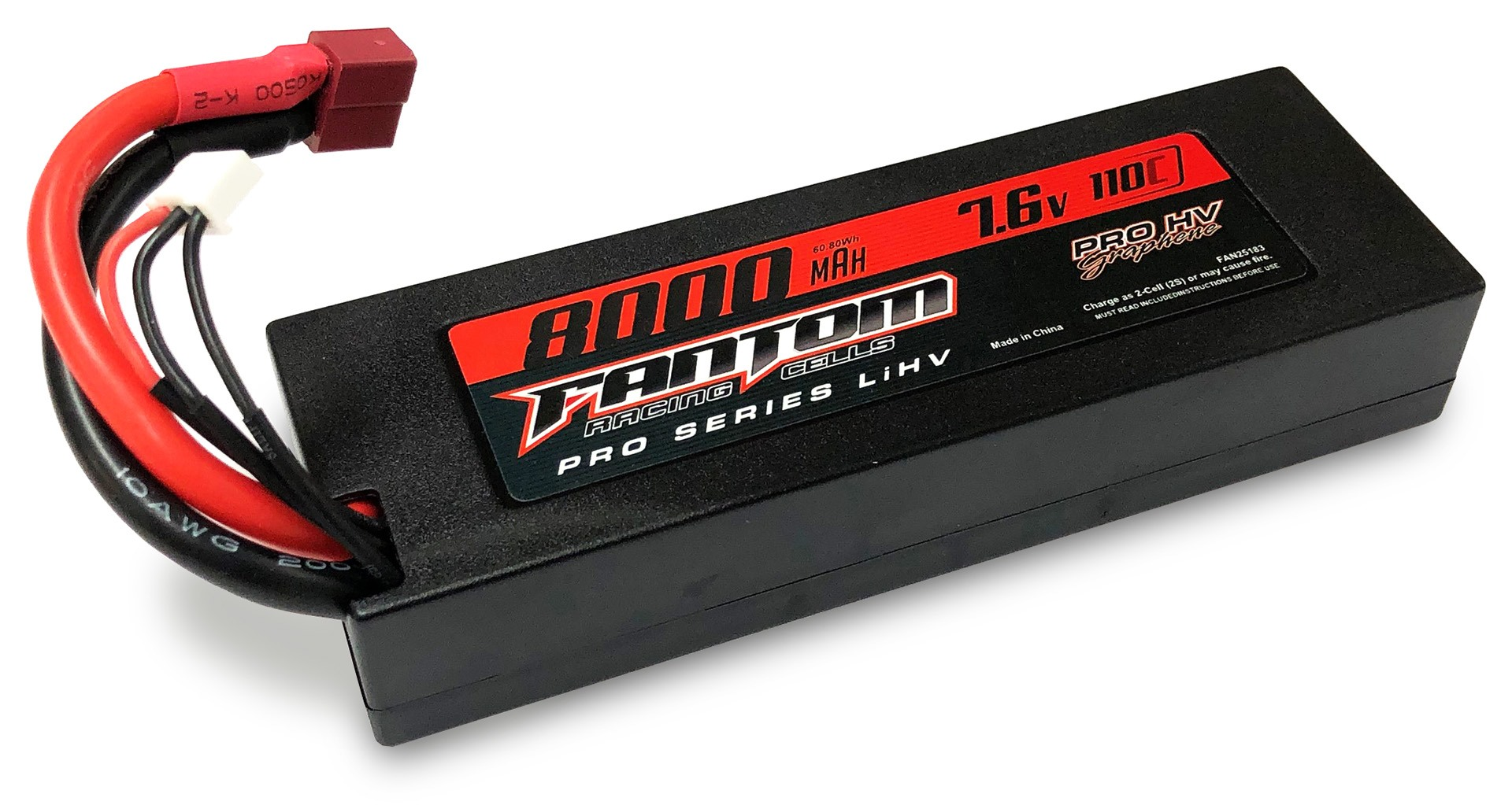 New Release - Fantom PRO HV Silicon Graphene LiHV 8000mAh battery