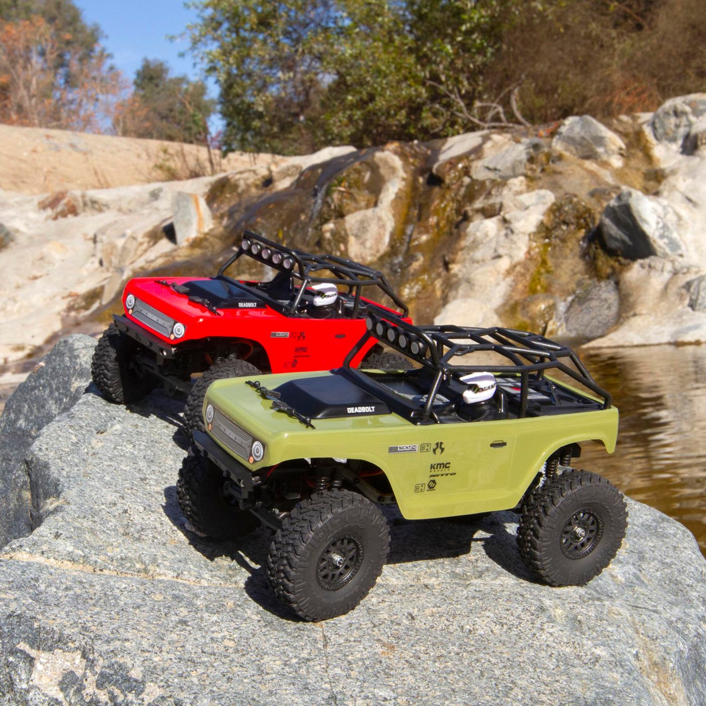 Small Scale Trail Fun!  SCX24 Deadbolt 4WD Rock Crawler by Axial