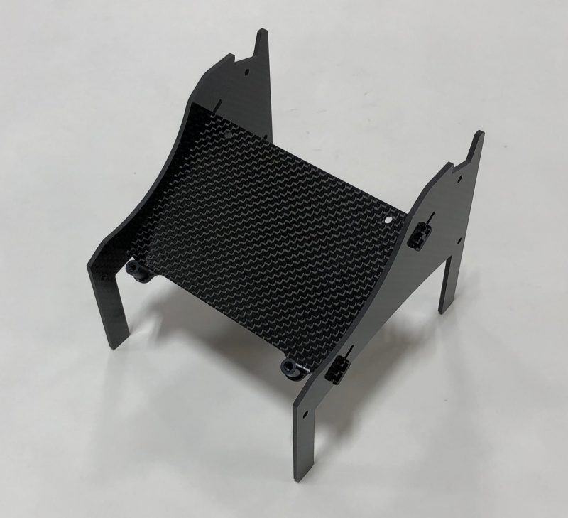 Xtreme Racing X8 iCharger Carbon Fiber Stand