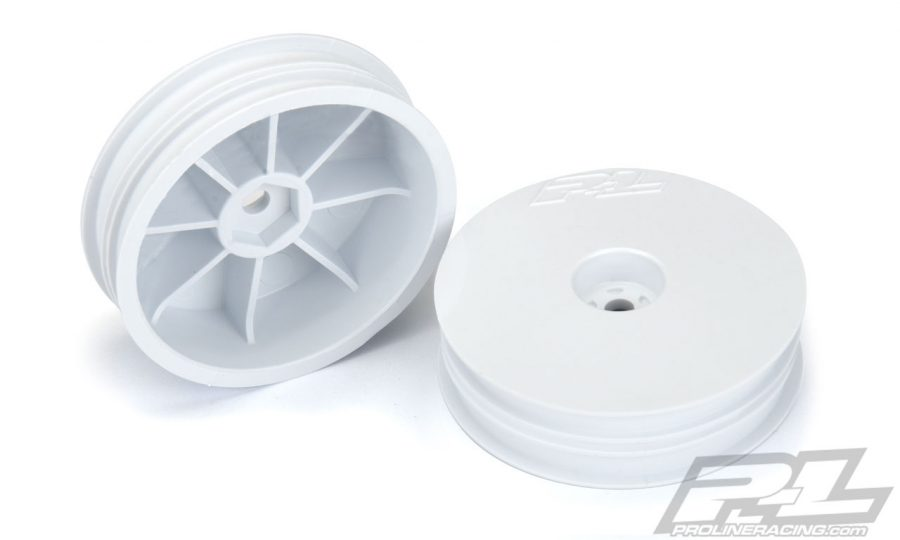 "Pro-Line Velocity Narrow 2.2"" Hex Carpet Front Wheels"