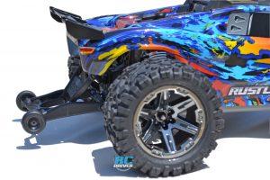 RPM Wheelie Bar Mount for Rustler 4x4