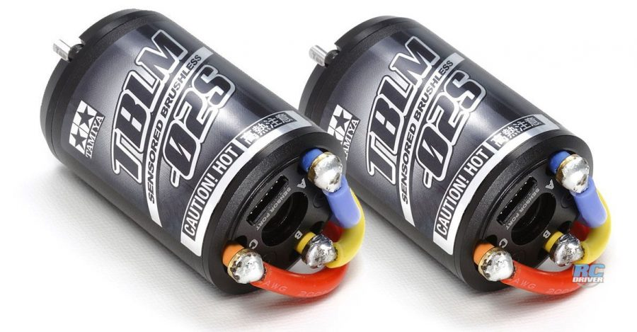 Tamiya 17.5T and 21.5T Brushless Motors