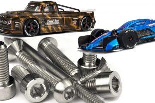 Lunsford Titanium Screw Kits