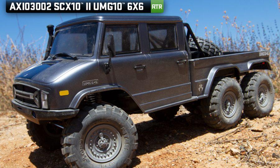 Axial SCX10 II UMG10 6X6