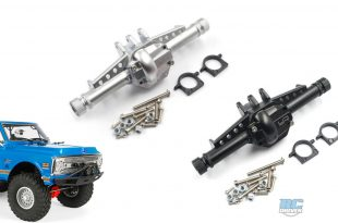 Yeah Racing Hard Coated Alloy Axle Housings for Axial SCX10 II