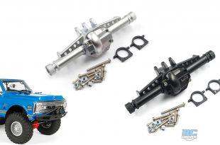 Yeah Racing Hard Coated Alloy Axle Housings for Axial SCX10 II
