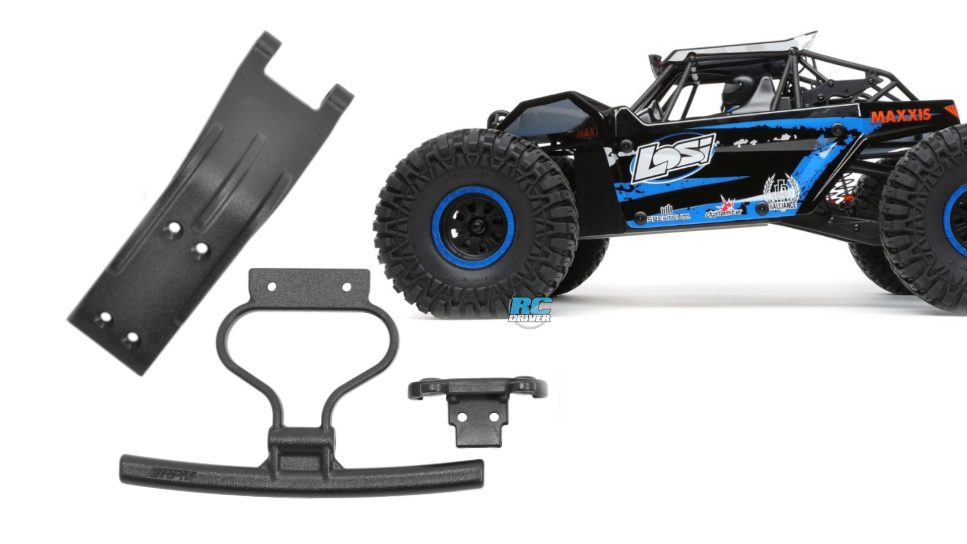 RPM Front Bumper & Skid Plate for Losi Rock Rey