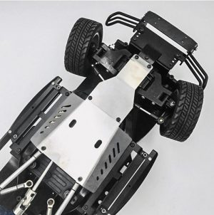 Xtra Speed Stainless Steel Skid Plate for Tamiya CC01