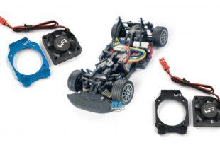 Yeah Racing Aluminum Motor Fan Mount Brace with Fan