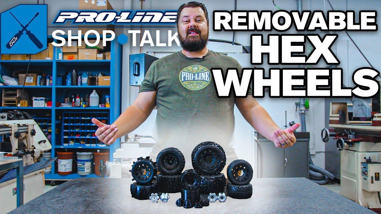 Pro-Line SHOP TALK Ep. 13 - Removable Hex Wheels