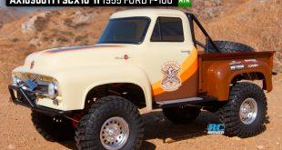 Axial 1955 Ford F-100 SCX10 II RTR rock crawler