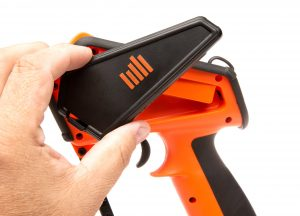Spektrum DX5 Rugged DSMR transmitter, orange special edition