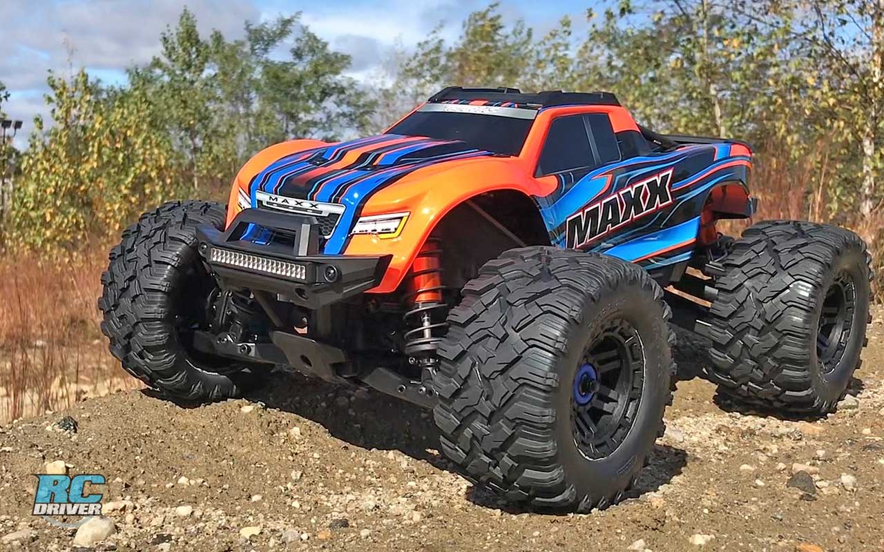 Traxxas Maxx 4s 4wd 1 10 Truck Review Rc Driver