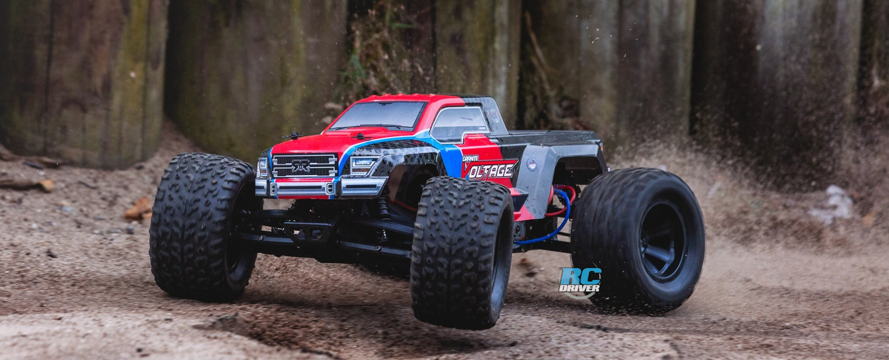 Arrma Granite Voltage 2WD Brushed Mega Monster Truck