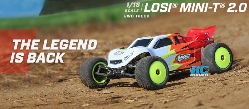 Losi 1/18 Mini-T 2.0 2WD Stadium Truck