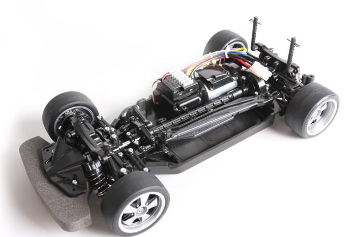 Tamiya TT-02 drift conversion