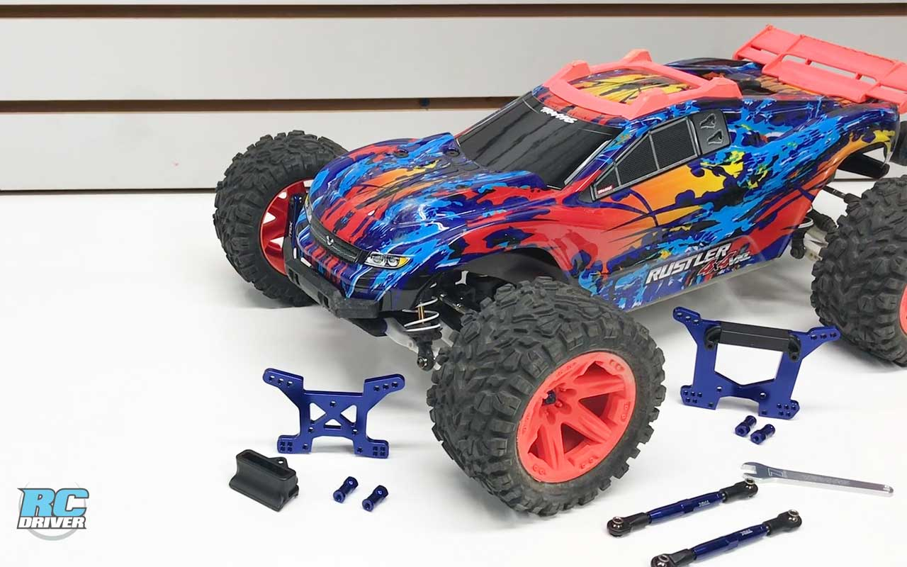 Traxxas Rustler 4x4 VXL Upgrade Project Truck Part 6