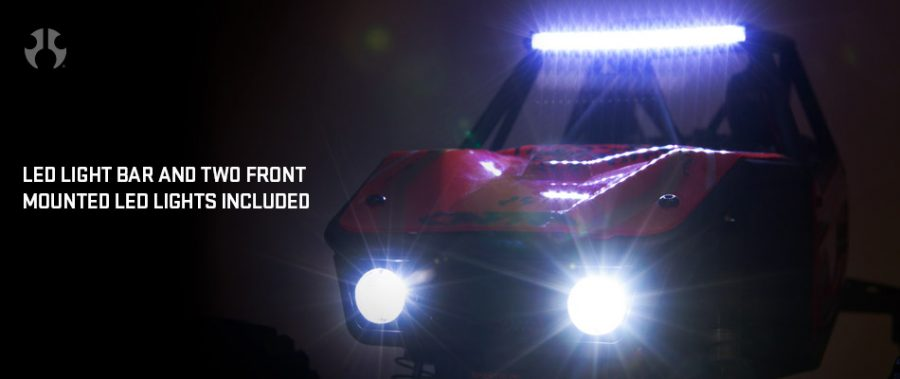 Ready-to-run Axial Capra 1.9 Unlimited Trail Buggy