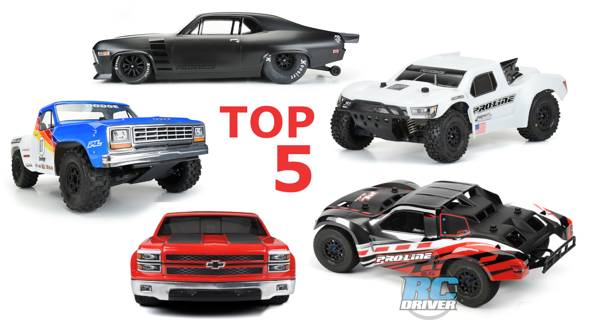 Our Top 5 Pro-Line body picks for the ECX Torment