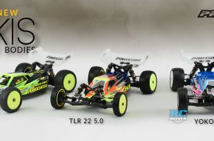 Pro-Line Axis series of race bodies for 1/10 2WD Buggy