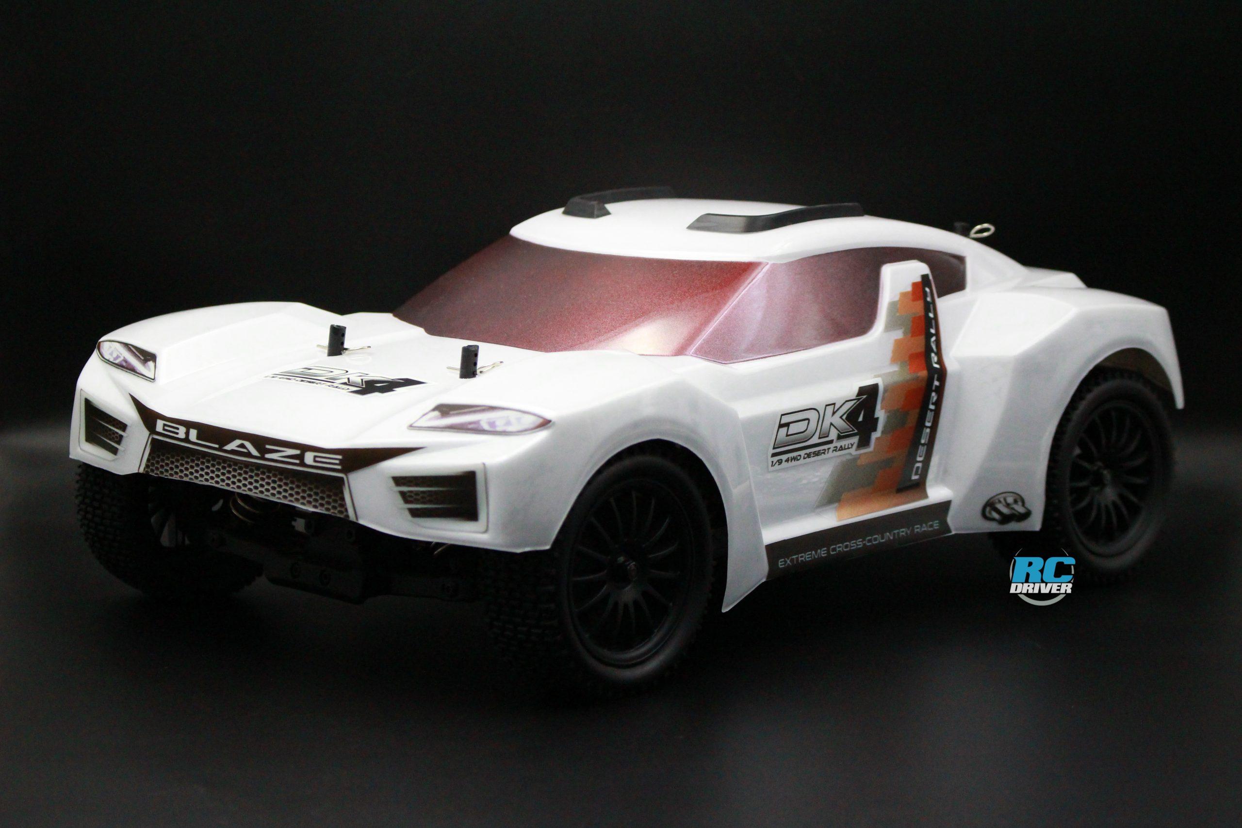 Blaze DK4 1/9 4WD Desert Rally: Dual-Purpose Racer