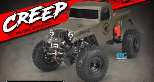 "JConcepts JCI Creep 12.3"" wheelbase body"
