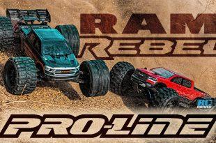 Pro-Line Pre-Cut 2020 RAM Rebel 1500 Clear Bodies
