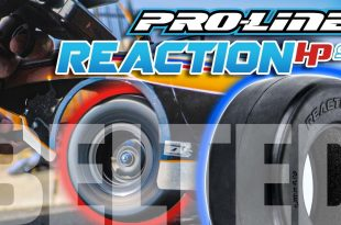 Pro-Line Reaction HP SC Drag Racing BELTED Tires